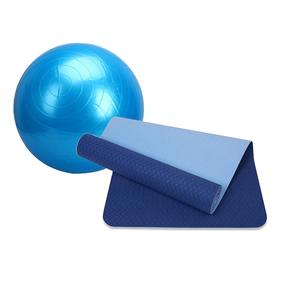 Combo Thảm tập yoga TPE 2 lớp 6mm + Bóng tập yoga da trơn (Tặng túi đựng thảm vs bơm bóng) - 1524374 , 9790579006022 , 62_2738009 , 650000 , Combo-Tham-tap-yoga-TPE-2-lop-6mm-Bong-tap-yoga-da-tron-Tang-tui-dung-tham-vs-bom-bong-62_2738009 , tiki.vn , Combo Thảm tập yoga TPE 2 lớp 6mm + Bóng tập yoga da trơn (Tặng túi đựng thảm vs bơm bóng)