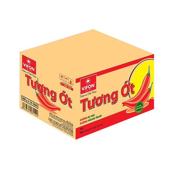 Thùng 24 Chai Tương Ớt Vifon (560g / Chai) - 1044186 , 2450502797508 , 62_3249305 , 419000 , Thung-24-Chai-Tuong-Ot-Vifon-560g--Chai-62_3249305 , tiki.vn , Thùng 24 Chai Tương Ớt Vifon (560g / Chai)