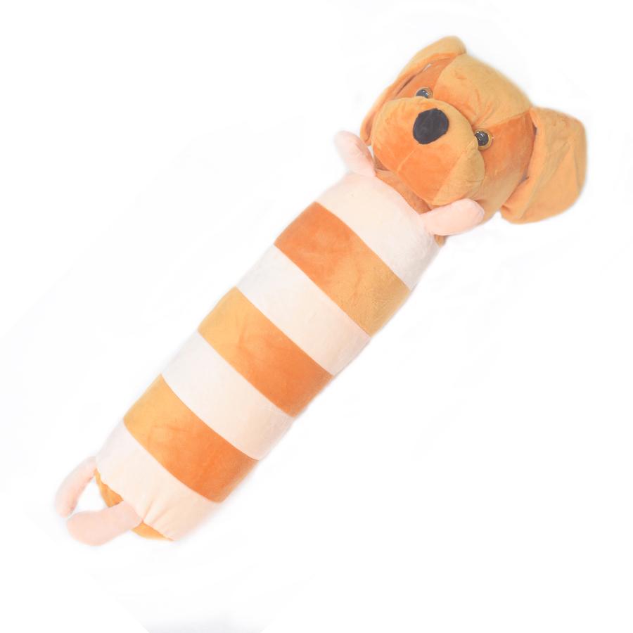 Gối ôm cho bé Pipobun - Chó Nâu (60cm)
