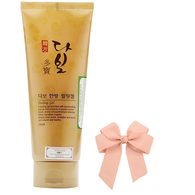 Kem tẩy da chết kem tẩy tế bào chết làm sạch và tái tạo da Dabo Hàn quốc ( 180ml) và kẹp nơd