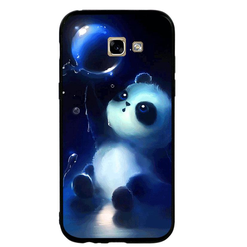 Ốp lưng viền TPU cho Samsung A5 2017 - Panda