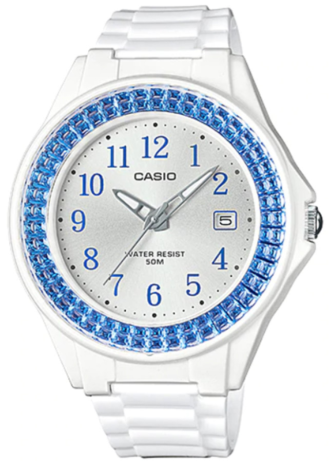 Đồng hồ nữ dây nhựa Casio LX-500H-2BVDF