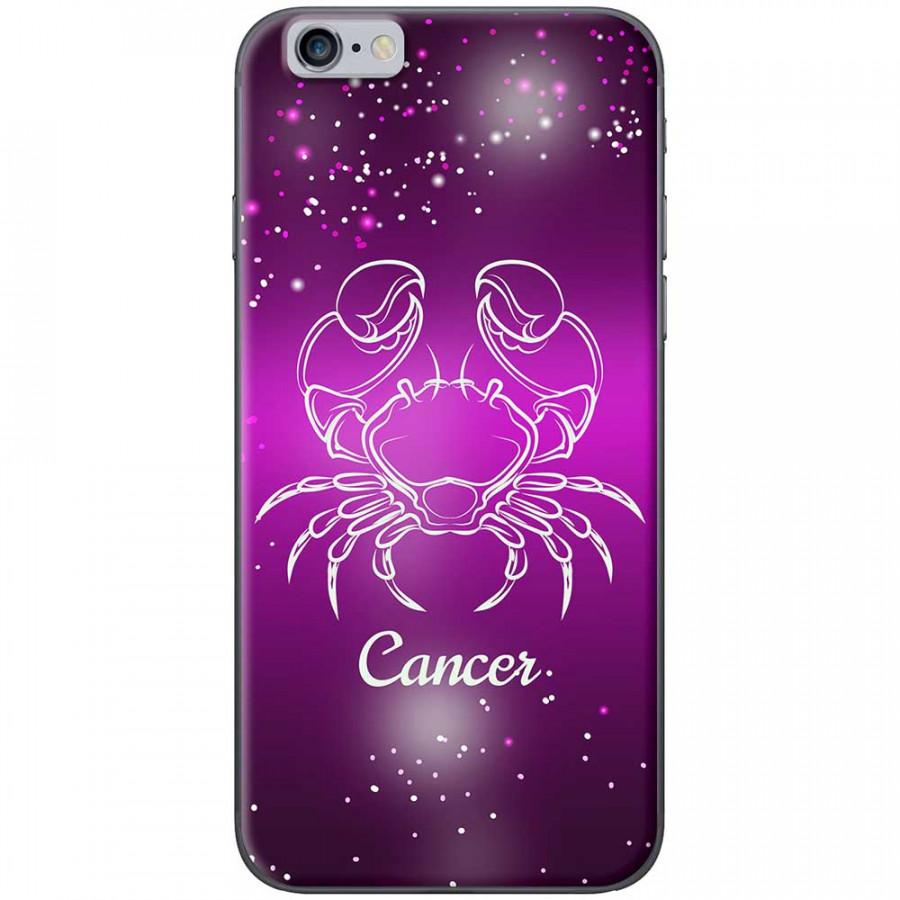 Ốp lưng  dành cho iPhone 6 Plus, iPhone 6s Plus mẫu Cung hoàng đạo Cancer (hồng)