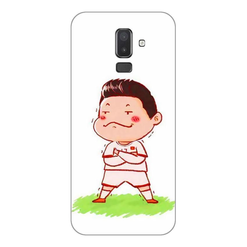 Ốp Lưng Dẻo Cho Điện thoại Samsung Galaxy J8 - U23 Mẫu 7