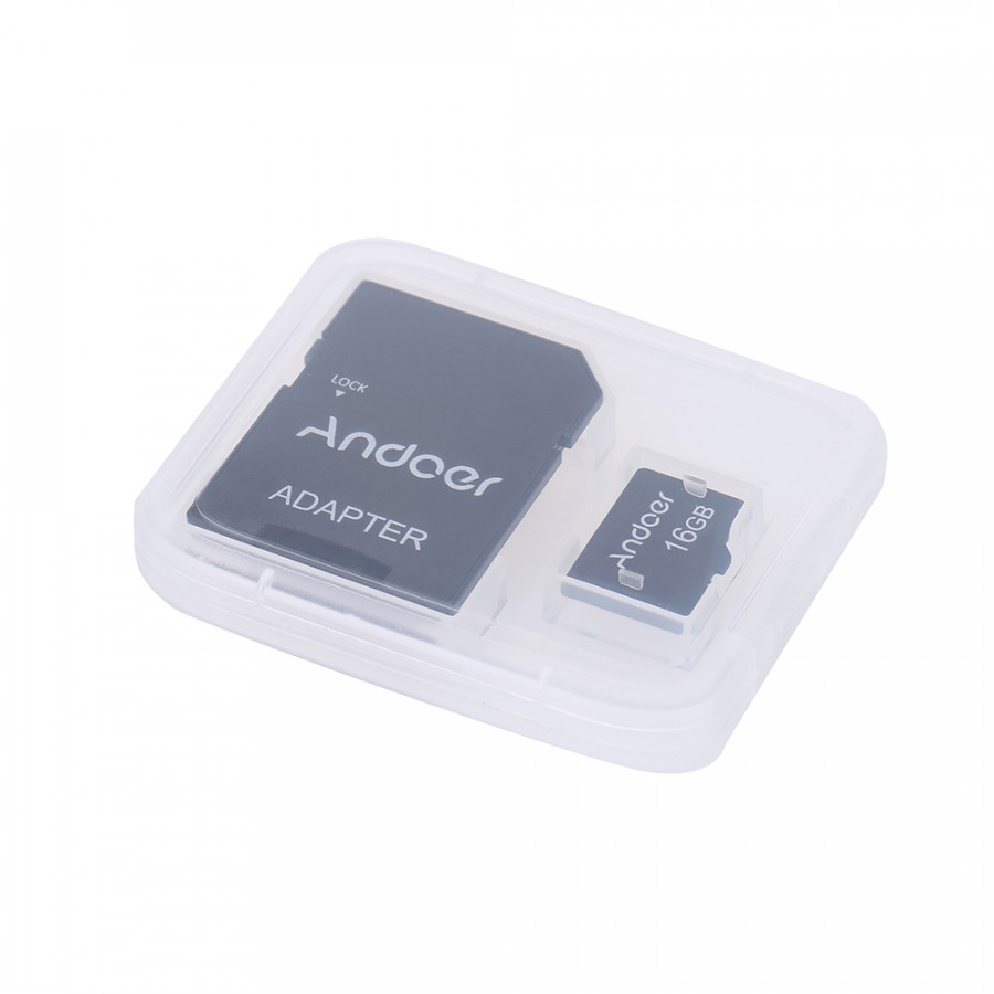 Thẻ Nhớ Và Bộ Chuyển Đổi Thẻ Andoer (16GB) (10 Thẻ)