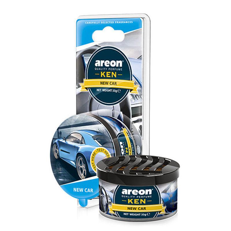 Sáp thơm ô tô AREON - Ken New Car (NHẬP KHẨU BULGARIA)