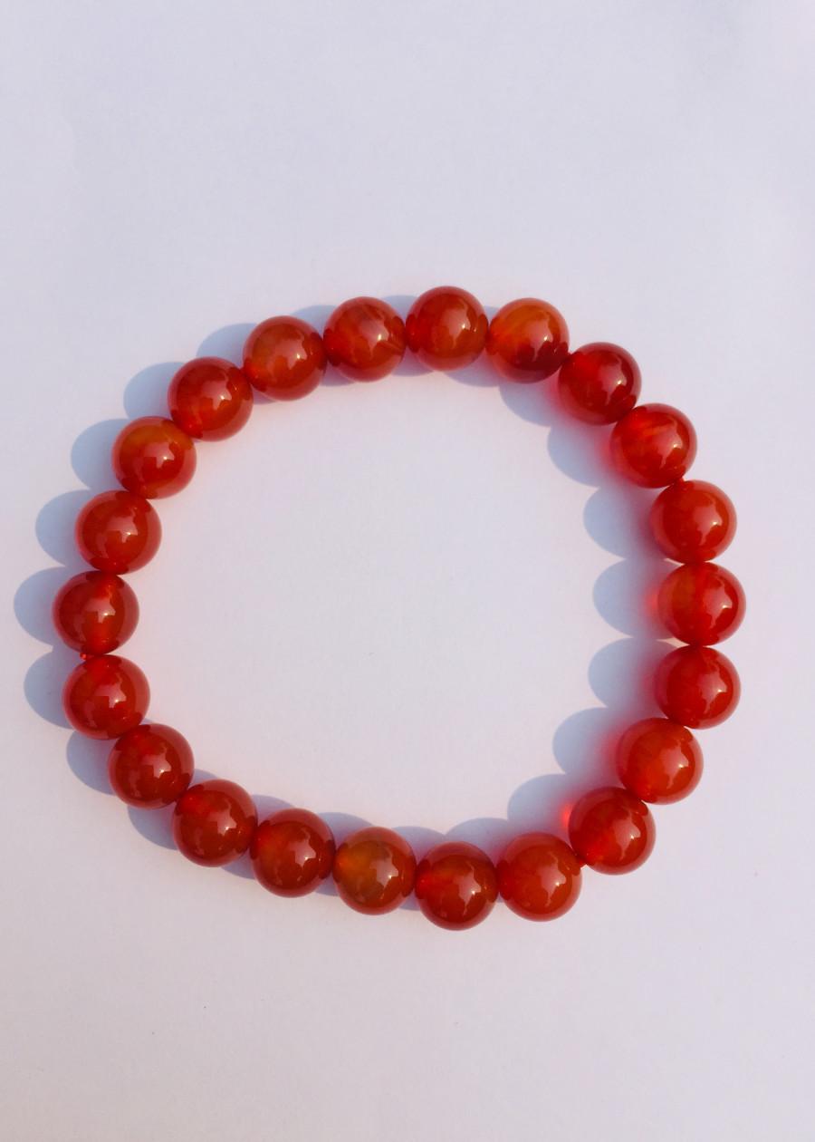 Vòng Tay Mã Não Đỏ 8ly - NEJA Gemstones