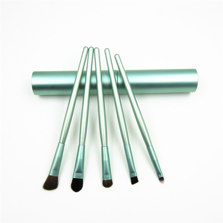 5 PCS/Set Soft Bristles Makeup Brush Portable Eyeshadow Eyebrow Lip Cosmetic Brushes