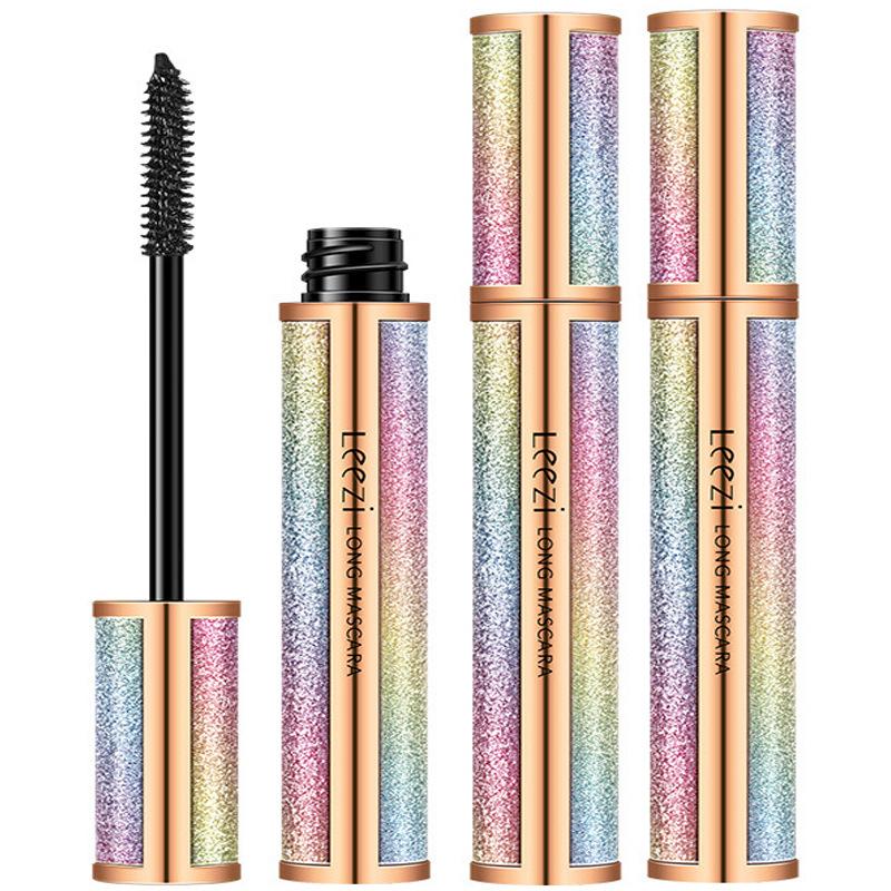 4D Starry Sky Long Volume Mascara Waterproof Curling Eyes Makeup Cosmetic Eyelash Cream