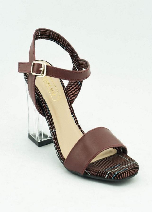 Sandal trụ Anh Vũ 7cm gót trong