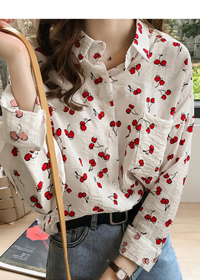 Áo sơ mi nữ vải lụa thời trang công sở in họa tiết cherry nhỏ tươi - 9835555 , 1309273512883 , 62_17587411 , 400000 , Ao-so-mi-nu-vai-lua-thoi-trang-cong-so-in-hoa-tiet-cherry-nho-tuoi-62_17587411 , tiki.vn , Áo sơ mi nữ vải lụa thời trang công sở in họa tiết cherry nhỏ tươi