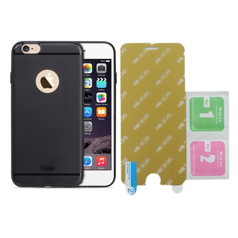 Bộ Ốp Lưng Dẻo Vucase Dành Cho iPhone 6Plus/6S Plus + Kính Cường Lực Nano (Trong suốt) - 5709656939706,62_2605141,120000,tiki.vn,Bo-Op-Lung-Deo-Vucase-Danh-Cho-iPhone-6Plus-6S-Plus-Kinh-Cuong-Luc-Nano-Trong-suot-62_2605141,Bộ Ốp Lưng Dẻo Vucase Dành Cho iPhone 6Plus/6S Plus + Kính Cường Lực Nano (Trong suốt)