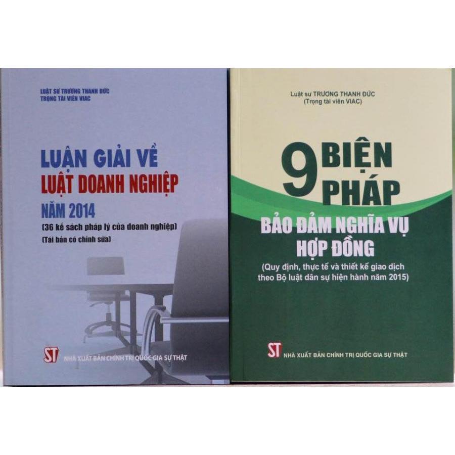 Bộ sách Luận giải về Luật Doanh nghiệp năm 2014 và 9 biện pháp đảm bảo nghĩa vụ hợp đồng - 1050512 , 3978126986188 , 62_3351473 , 214000 , Bo-sach-Luan-giai-ve-Luat-Doanh-nghiep-nam-2014-va-9-bien-phap-dam-bao-nghia-vu-hop-dong-62_3351473 , tiki.vn , Bộ sách Luận giải về Luật Doanh nghiệp năm 2014 và 9 biện pháp đảm bảo nghĩa vụ hợp đồng