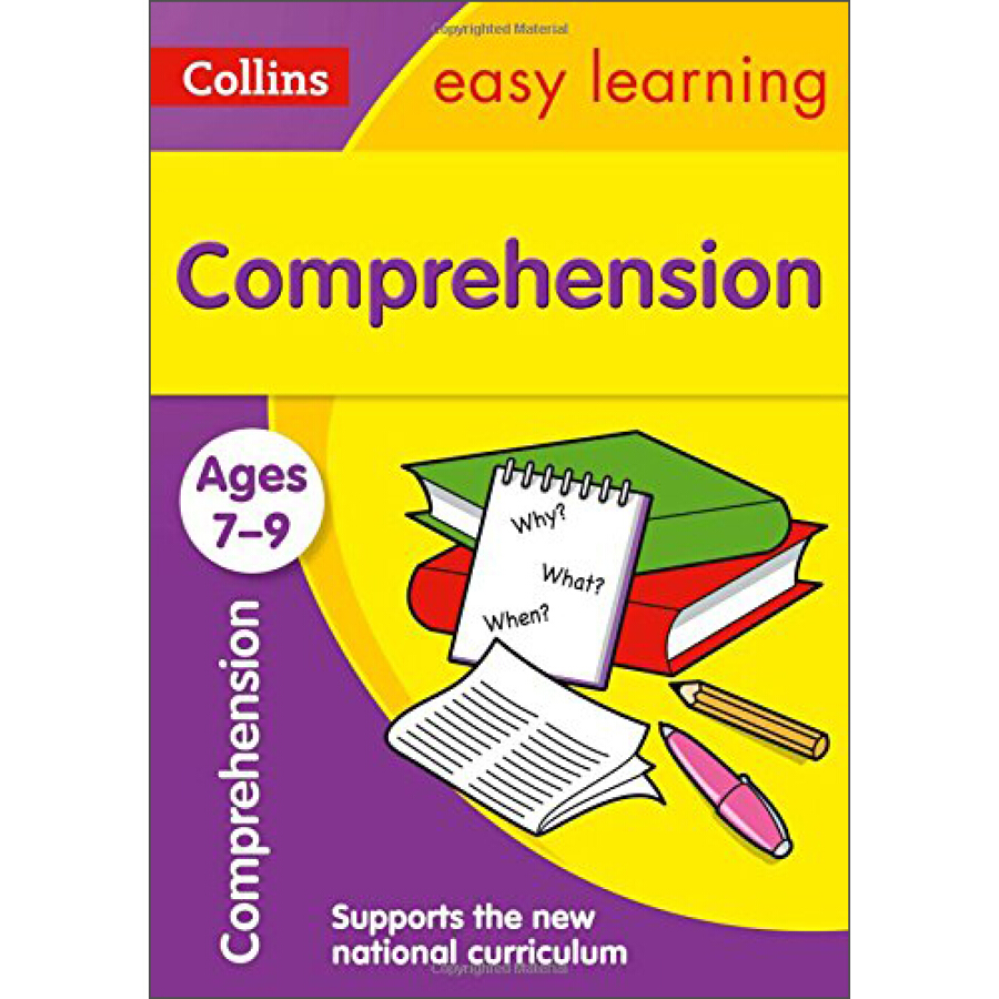 Comprehension Ages 7-9: (Ages 7-9): Collins Easy Learning Ks2