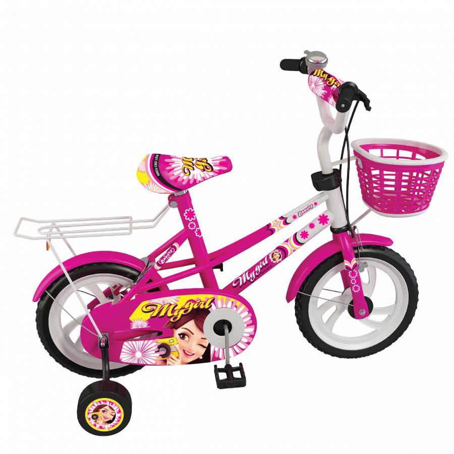 Xe đạp Nhựa Chợ Lớn 14 inch K96- M1720-X2B Giao màu ngẫu nhiên