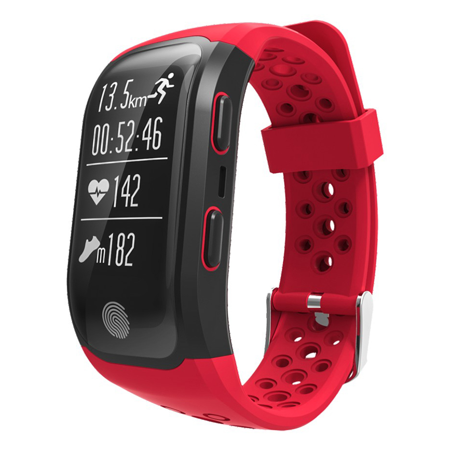 IP68 Waterproof Sports Smart Bracelet BT GPS Waterproof Wristband Strap Pedometer Fitness Tracker with Heart Rate
