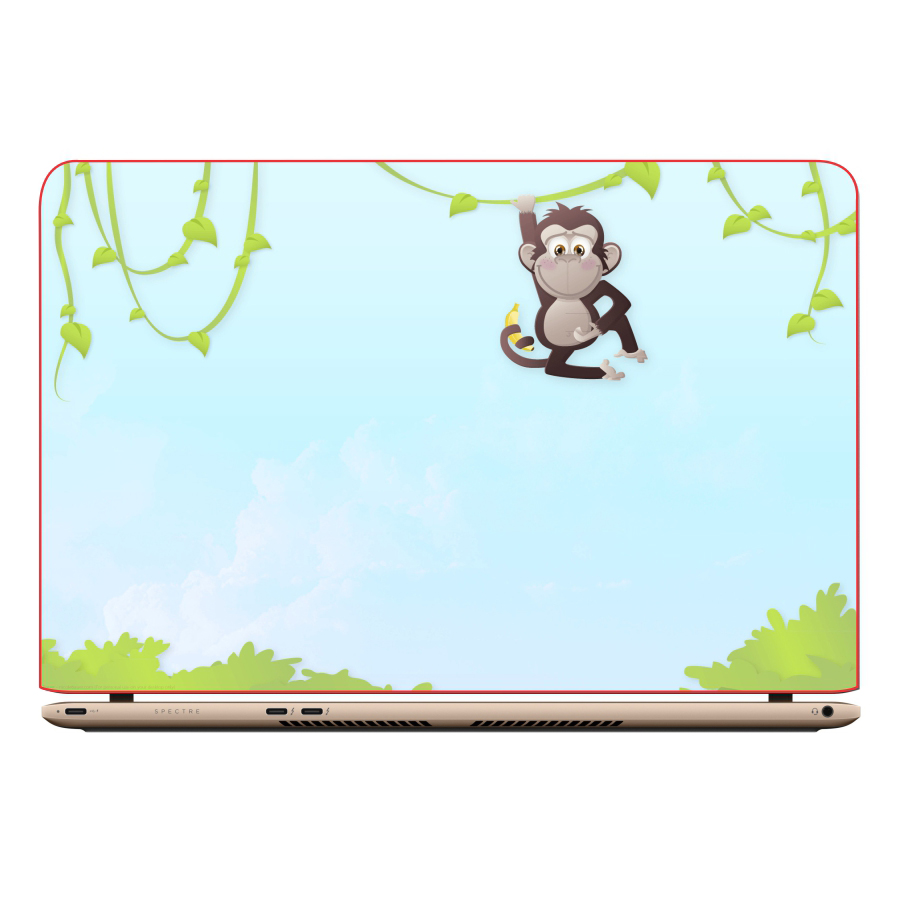 Miếng Dán Decal Trang Trí Laptop Animal Cartoon DCLTDV 152