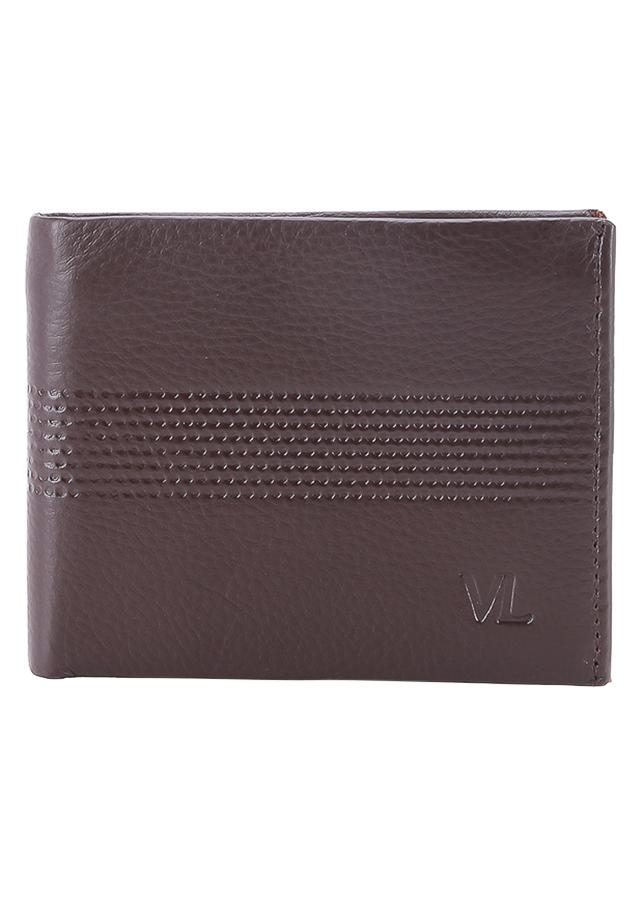 Ví Da Nam VL Leather VL0029 (12 x 10 cm) - Nâu