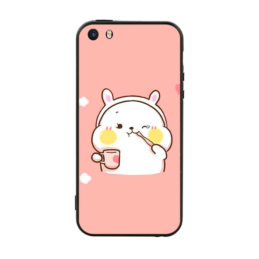 Ốp lưng viền TPU cho điện thoại Iphone 5 - Cute 06