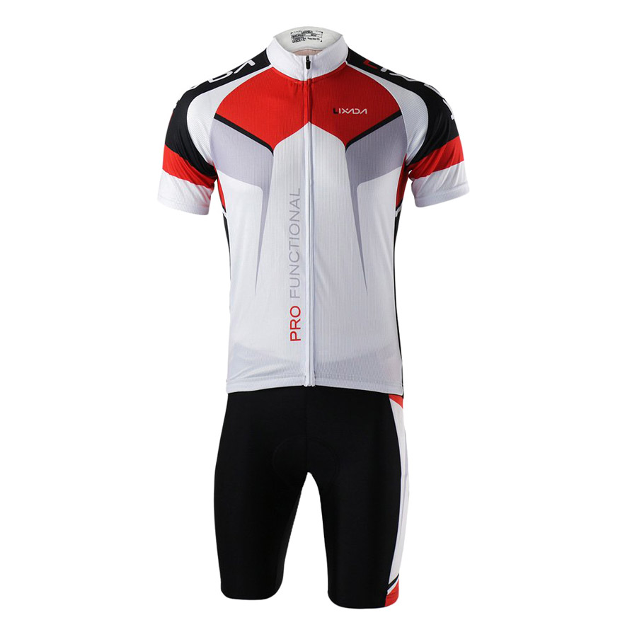 Men Breathable Quick Dry Comfortable Short Sleeve Jersey + Padded Shorts Cycling Clothing Set Riding Sportswear - 2170891 , 1201006179168 , 62_13912015 , 877000 , Men-Breathable-Quick-Dry-Comfortable-Short-Sleeve-Jersey-Padded-Shorts-Cycling-Clothing-Set-Riding-Sportswear-62_13912015 , tiki.vn , Men Breathable Quick Dry Comfortable Short Sleeve Jersey + Padded S