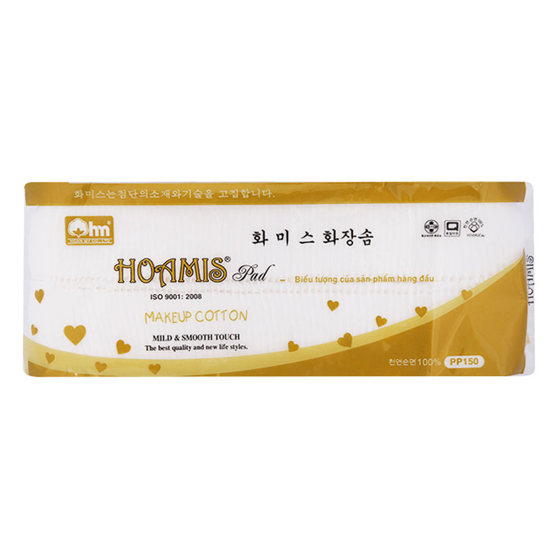 Bông Tẩy Trang Cao Cấp Korea Pp 150 Hoamis (140 Miếng / Gói) - 1090452 , 7222867114123 , 62_4049301 , 35200 , Bong-Tay-Trang-Cao-Cap-Korea-Pp-150-Hoamis-140-Mieng--Goi-62_4049301 , tiki.vn , Bông Tẩy Trang Cao Cấp Korea Pp 150 Hoamis (140 Miếng / Gói)
