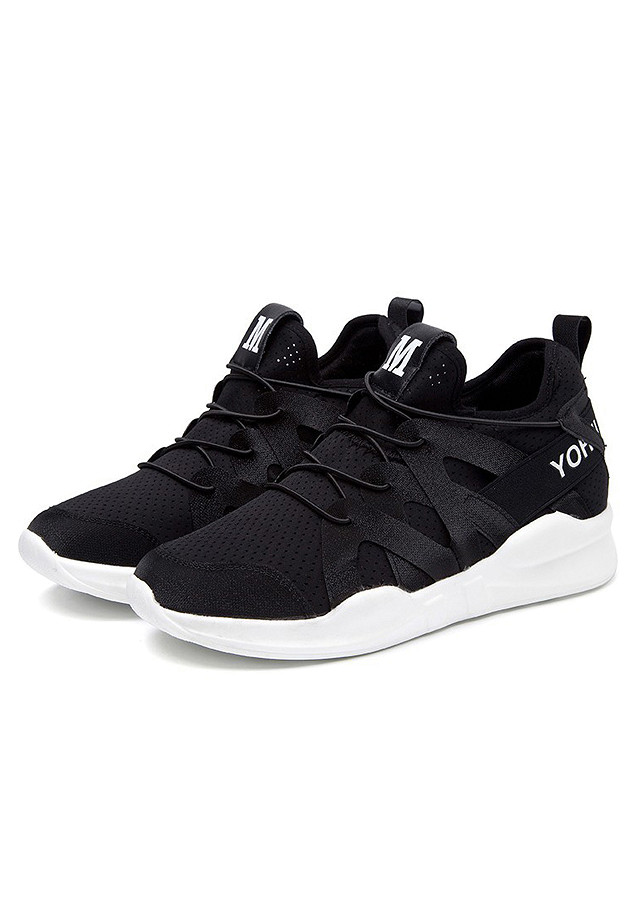 Giày Sneaker Nữ Phong Cách Hàn Quốc Vải Mềm Nhẹ 3Fashion - MSP 3110 - Đen