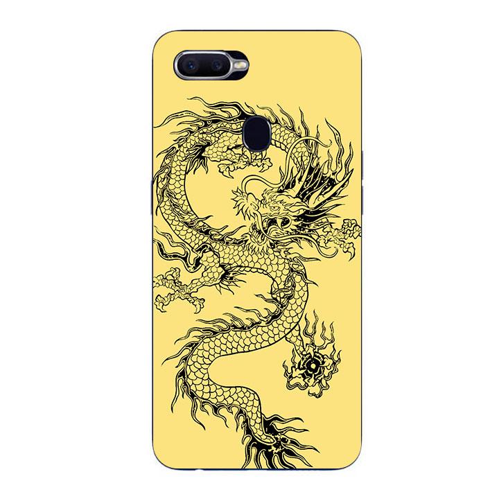 Ốp Lưng Dẻo Cho Điện thoại Oppo F9 - Dragon 02