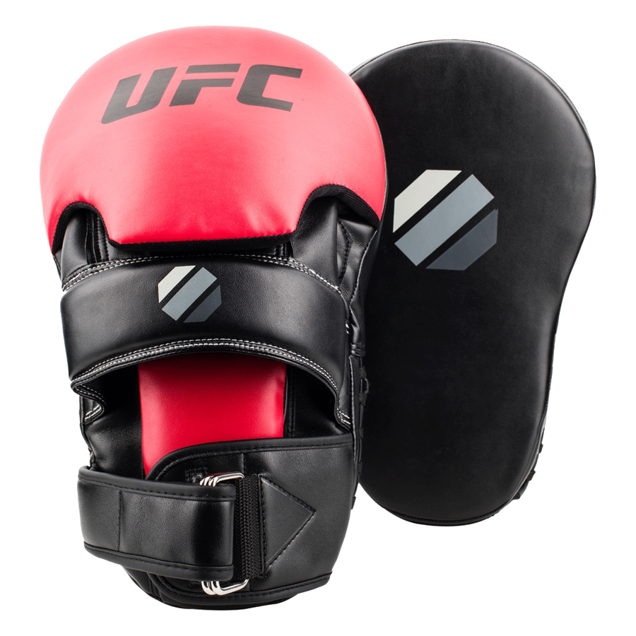 Đích Đấm Curved Focus Mitt UFC 892401 - Đen (Ngắn)