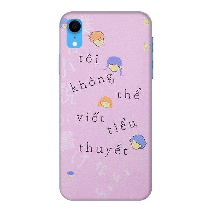 Ốp Lưng Dành Cho Điện Thoại iPhone XR Tiểu Thuyết
