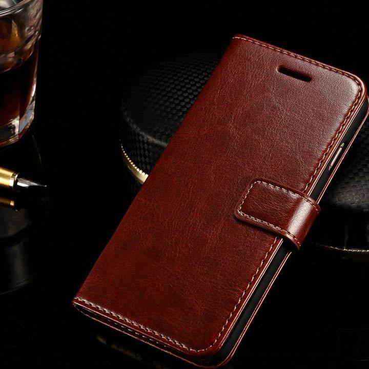 Bao da Iphone 6 Plus/ 6s Plus/ 7 Plus/ 7s Plus/ 8 Plus kiêm ví tiền đựng thẻ, card, tiền