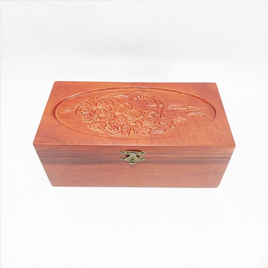 Hộp đựng trang sức - hộp đựng con dấu gỗ hương  trạm khắc hoa văn UK WOOD - 1661631 , 7426375336880 , 62_11514487 , 500000 , Hop-dung-trang-suc-hop-dung-con-dau-go-huong-tram-khac-hoa-van-UK-WOOD-62_11514487 , tiki.vn , Hộp đựng trang sức - hộp đựng con dấu gỗ hương  trạm khắc hoa văn UK WOOD