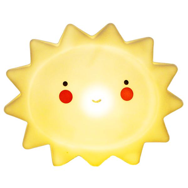 Đèn ngủ hình ông mặt trời - Đèn Màu Vàng