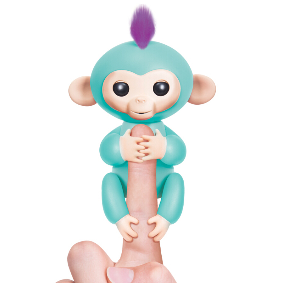 WowWee colorful finger monkey robot smart electronic toy fingertip monkey child gift green 3706 - 2016225 , 6627274414247 , 62_10482339 , 1298000 , WowWee-colorful-finger-monkey-robot-smart-electronic-toy-fingertip-monkey-child-gift-green-3706-62_10482339 , tiki.vn , WowWee colorful finger monkey robot smart electronic toy fingertip monkey child
