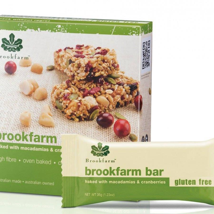 Thanh Hỗn Hợp Ngũ Cốc Gluten Free BROOKFARM (35g x 4)
