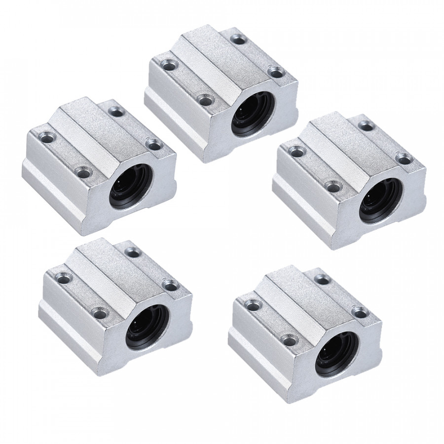 10pcs SCS8UU 8mm Linear Motion Ball Bearing Block CNC Router Slide Unit 3D Printer DIY Kit Parts Accessories
