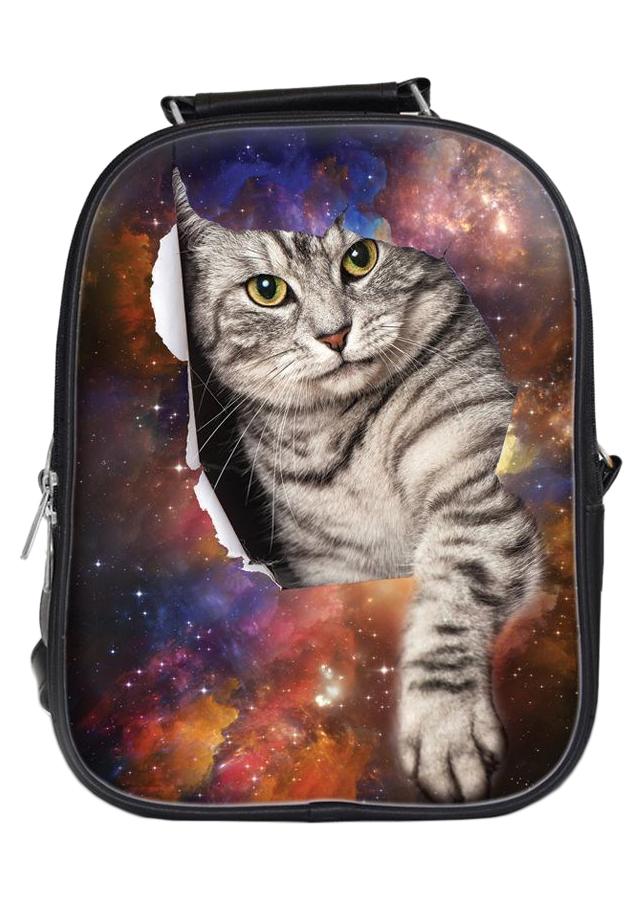 Balo In Hình Mèo 3D Galaxy BLAA164