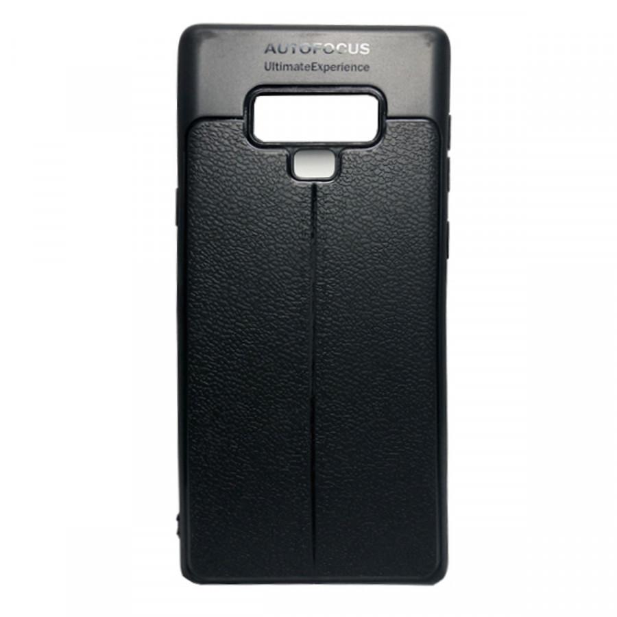 Ốp lưng giả da cho Samsung Note 9 - đen