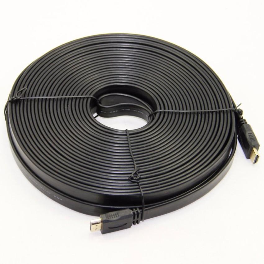 Dây HDMI 30M dẹt (Đen)