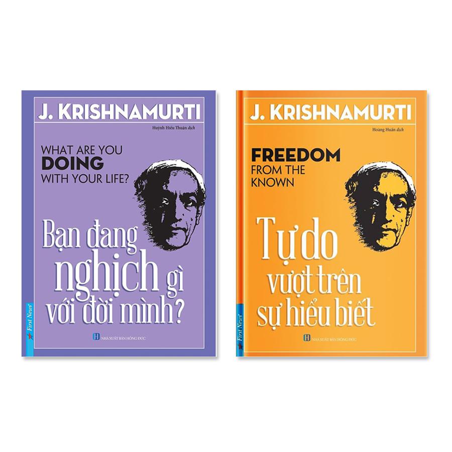 Bộ sách của J.Krishnamurti: Bạn đang nghịch gì với đời mình  Tự do vượt trên sự hiểu biết - 1443189 , 2752907819367 , 62_10423978 , 176000 , Bo-sach-cua-J.Krishnamurti-Ban-dang-nghich-gi-voi-doi-minh-Tu-do-vuot-tren-su-hieu-biet-62_10423978 , tiki.vn , Bộ sách của J.Krishnamurti: Bạn đang nghịch gì với đời mình  Tự do vượt trên sự hiểu biết