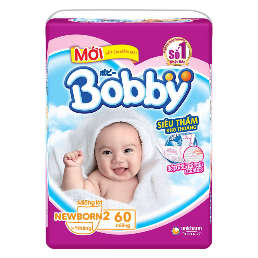 Miếng Lót Sơ Sinh Bobby Fresh Newborn 2 - 60 (60 Miếng) + Tặng Thêm 6 Miếng Tã Quần (Size M) - 7506877 , 1848998053283 , 62_16175598 , 130000 , Mieng-Lot-So-Sinh-Bobby-Fresh-Newborn-2-60-60-Mieng-Tang-Them-6-Mieng-Ta-Quan-Size-M-62_16175598 , tiki.vn , Miếng Lót Sơ Sinh Bobby Fresh Newborn 2 - 60 (60 Miếng) + Tặng Thêm 6 Miếng Tã Quần (Size M)