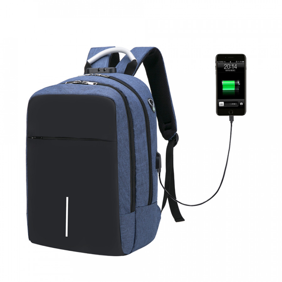 Multifunction Oxford Laptop Backpack Anti-Theft Large Capacity Backpack Schoolbag with Lock  External USB Charging Port - 2261389 , 5579835177713 , 62_14489687 , 556000 , Multifunction-Oxford-Laptop-Backpack-Anti-Theft-Large-Capacity-Backpack-Schoolbag-with-Lock-External-USB-Charging-Port-62_14489687 , tiki.vn , Multifunction Oxford Laptop Backpack Anti-Theft Large Capa