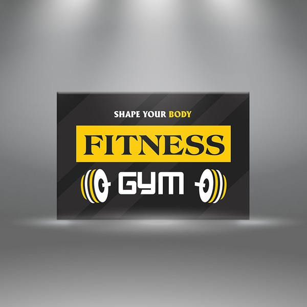"""Tranh Phòng Tập Gym """"Share You Body Fitness Gym"""" W399 - 1047267 , 9307760137511 , 62_6401849 , 568999 , Tranh-Phong-Tap-Gym-Share-You-Body-Fitness-Gym-W399-62_6401849 , tiki.vn , Tranh Phòng Tập Gym """"Share You Body Fitness Gym"""" W399"""