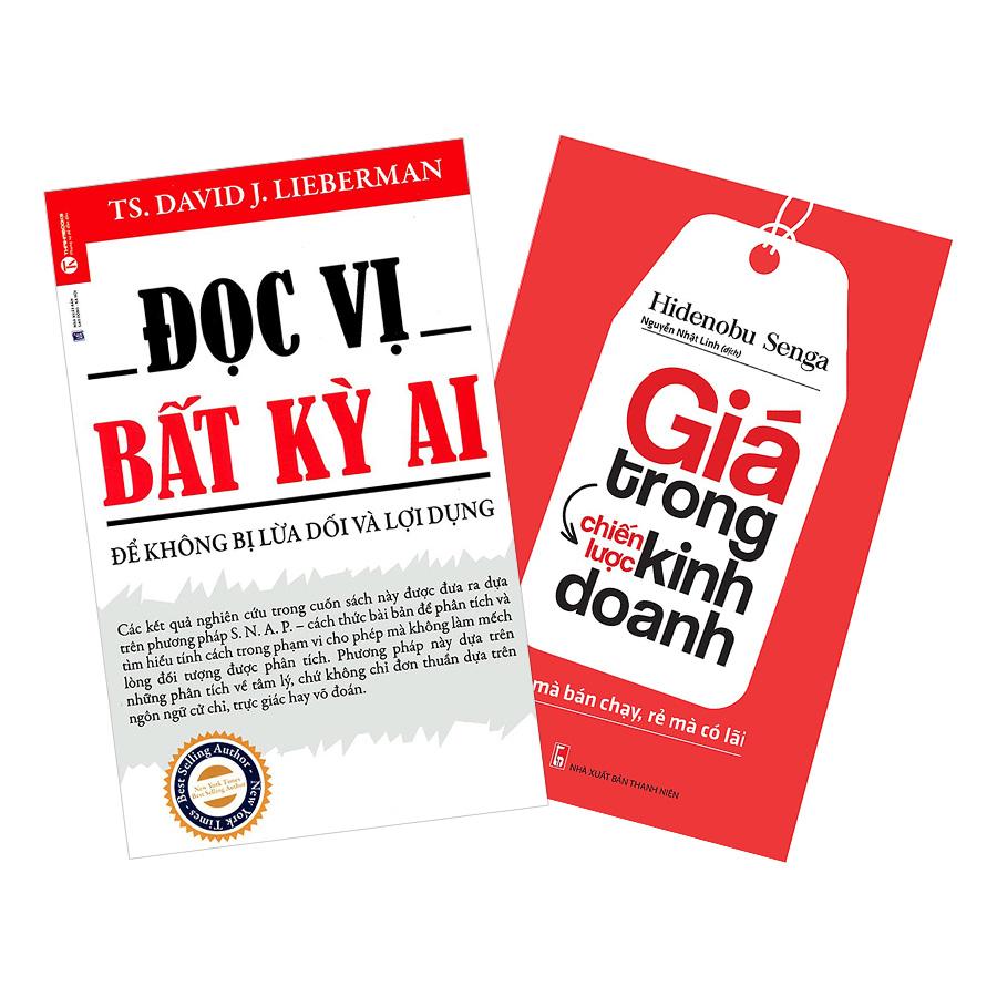 Combo Đọc Vị Bất Kỳ Ai + Giá Trong Chiến Lược Kinh Doanh (2 cuốn) - 1869855 , 9588414089329 , 62_14197818 , 144000 , Combo-Doc-Vi-Bat-Ky-Ai-Gia-Trong-Chien-Luoc-Kinh-Doanh-2-cuon-62_14197818 , tiki.vn , Combo Đọc Vị Bất Kỳ Ai + Giá Trong Chiến Lược Kinh Doanh (2 cuốn)