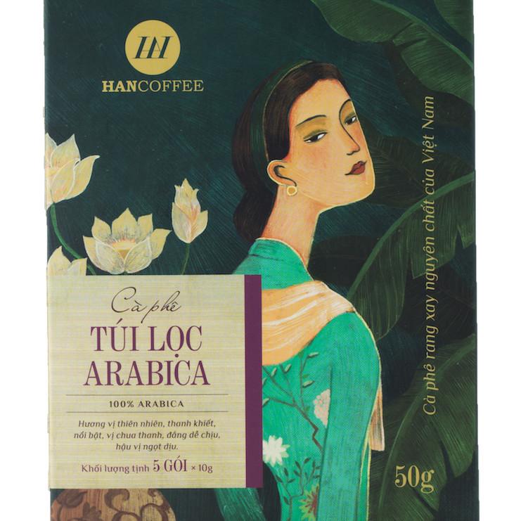 Cà phê phin giấy túi lọc cao cấp HANCOFFEE Drip Bag Arabica (hộp 5 gói) - 1814717 , 1064481434623 , 62_13332422 , 72000 , Ca-phe-phin-giay-tui-loc-cao-cap-HANCOFFEE-Drip-Bag-Arabica-hop-5-goi-62_13332422 , tiki.vn , Cà phê phin giấy túi lọc cao cấp HANCOFFEE Drip Bag Arabica (hộp 5 gói)