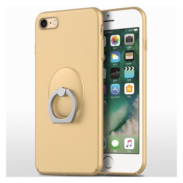 Ốp Lưng Điện Thoại Kèm Giá Đỡ Nhẫn Cho Iphone 7/8 Biaze - Vàng