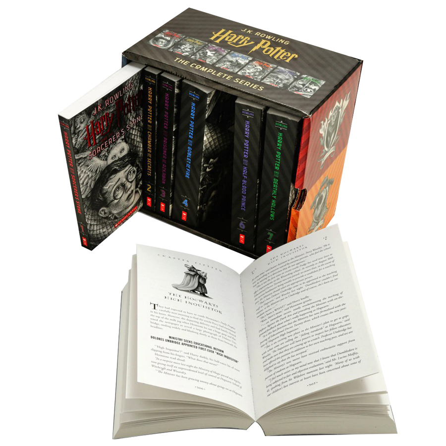 Harry Potter Books 1-7 Special Edition Boxed Set (Paperback) - 1108281 , 4516201103847 , 62_4042795 , 2350000 , Harry-Potter-Books-1-7-Special-Edition-Boxed-Set-Paperback-62_4042795 , tiki.vn , Harry Potter Books 1-7 Special Edition Boxed Set (Paperback)