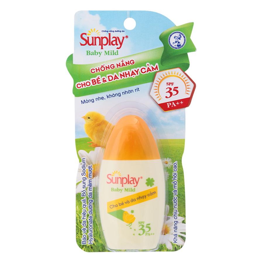 Sữa Chống Nắng Dưỡng Da Sunplay Baby Mild (Tuýp 30g)