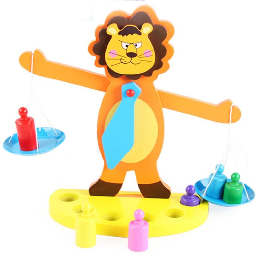 Đồ chơi gỗ cân thăng bằng kiểu chú sư tử - TodepreHG1015 - 1288013 , 8670438420163 , 62_13299114 , 190000 , Do-choi-go-can-thang-bang-kieu-chu-su-tu-TodepreHG1015-62_13299114 , tiki.vn , Đồ chơi gỗ cân thăng bằng kiểu chú sư tử - TodepreHG1015