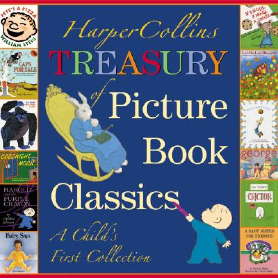 HarperCollins Treasury of Picture Book Classics: A Childs First Collection - 1241330 , 2739766687962 , 62_5284319 , 838000 , HarperCollins-Treasury-of-Picture-Book-Classics-A-Childs-First-Collection-62_5284319 , tiki.vn , HarperCollins Treasury of Picture Book Classics: A Childs First Collection