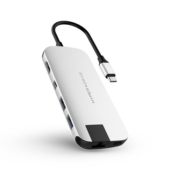 Cổng chuyển Hyperdrive Slim 8 in 1 USB-C Hub dành cho Macbook, PC và Devices - 7845820931638,62_7982068,2590000,tiki.vn,Cong-chuyen-Hyperdrive-Slim-8-in-1-USB-C-Hub-danh-cho-Macbook-PC-va-Devices-62_7982068,Cổng chuyển Hyperdrive Slim 8 in 1 USB-C Hub dành cho Macbook, PC và Devices